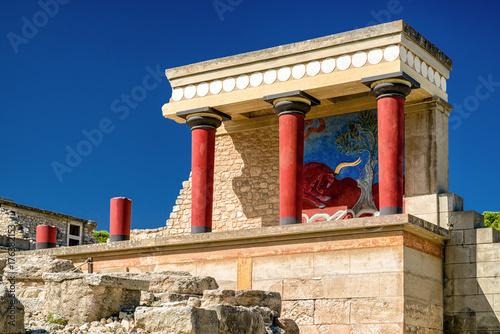 Vászonkép Knossos palace, Crete - Greece