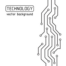 Circuit Board. Technology Vect...