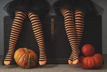 Happy Halloween! Female Feet I...