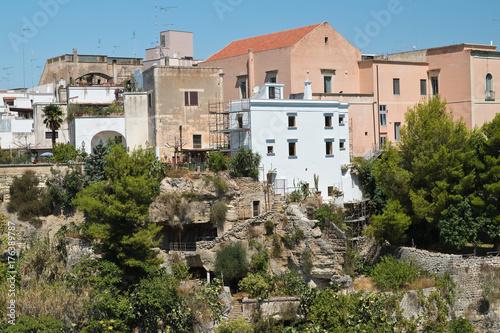 Valokuva  Panoramic view of Massafra. Puglia. Italy.
