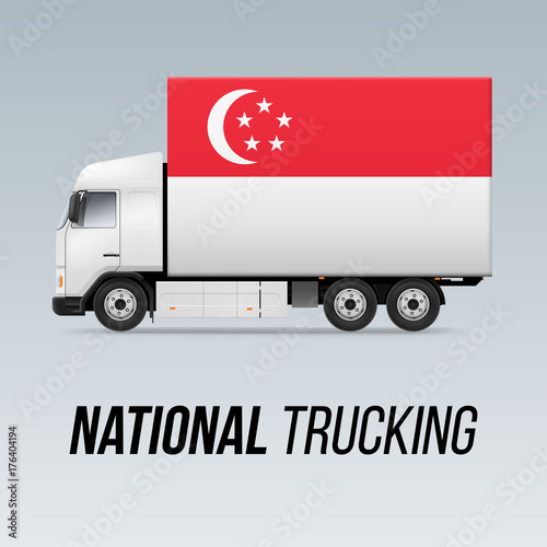 Photo  National Delivery Truck