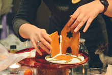 Gingerbread House Making By Ha...