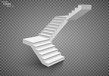White Staircase, 3d Staircase....