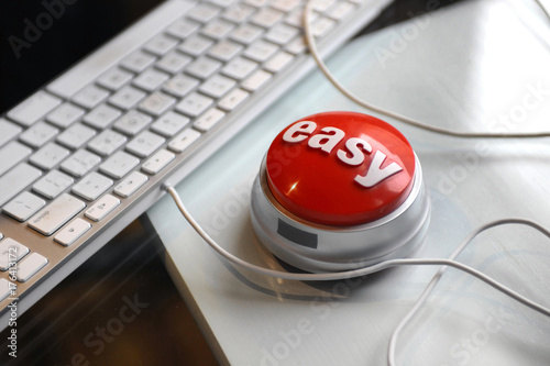 Cadres-photo bureau Macarons easy button