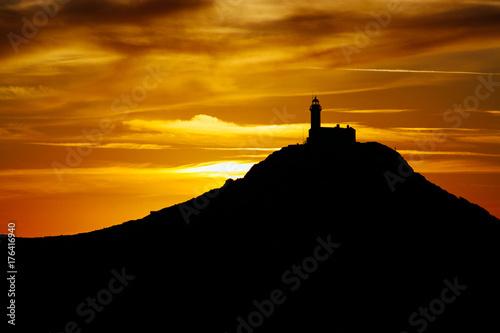 Zdjęcie XXL Niesamowita latarnia morska Knidos.