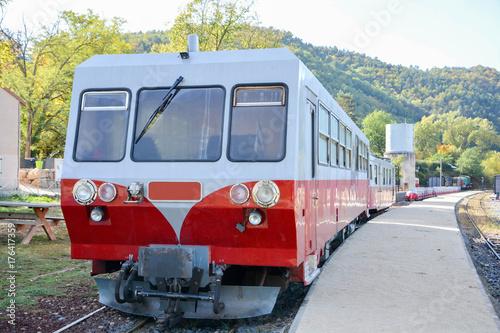Zdjęcie XXL Micheline Z pociągu Ardeche (Mastrou)
