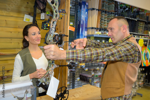 Recess Fitting Hunting at the hunting store