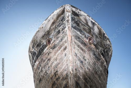 Foto  Bug eines Schiffwracks
