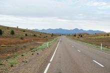 Road Leading To Flinders Range...