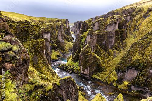 Valokuva  Fjaðrárgljúfur South Iceland