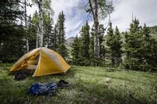 Camp Site. Cruces Basin Wilder...