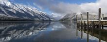 Lake Rotoiti Jetty With Reflec...