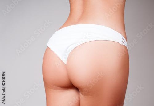 Fotografie, Obraz  Beautiful slim woman body