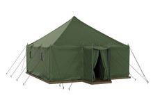 Military Tent Isolated