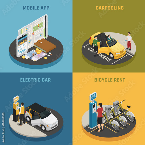 Photo  Carsharing 2x2 Design Concept