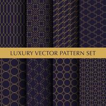 Luxury Vintage Vector Patterns Pack