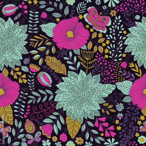 wektor-kwiatki-bezszwowa-tekstura-botan