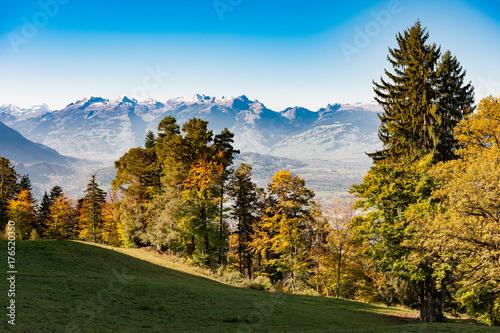 Fotografie, Obraz  Viktorsberg, Vorarlberg, Aussichten