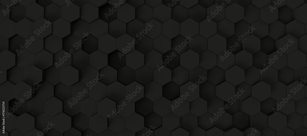 Fototapety, obrazy: hexagon background