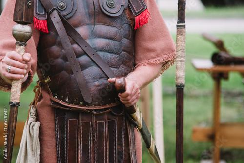 Plakat Zamknij się na Centurion - Roman starożytnego żołnierza