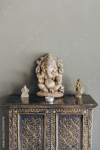 Statue of Ganesha Poster
