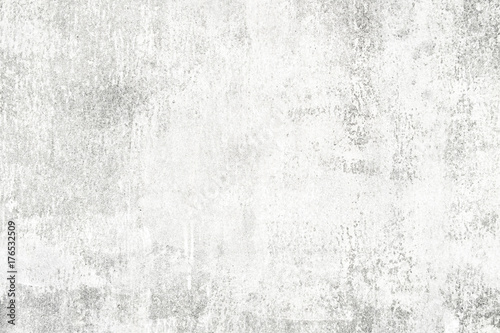 Fototapety, obrazy:  white background of natural cement or stone old wall texture