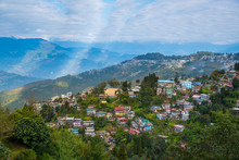 Darjeeling Town View From High...