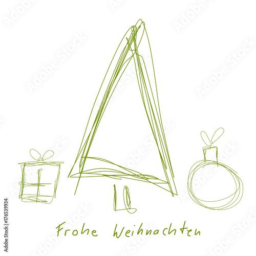 weihnachtsbaum christbaum tannenbaum symbole zeichnung. Black Bedroom Furniture Sets. Home Design Ideas