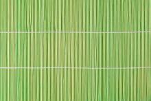 Close-up Of Bamboo Place Mat