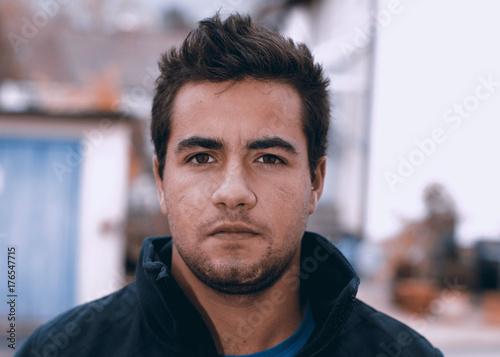 Fotografía  junger Mann, porträt