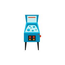Pinball Machine Vector Icon