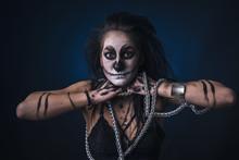 Zombie Death Voodoo Scary Witc...