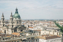 St. Stephen's Basilica With Th...