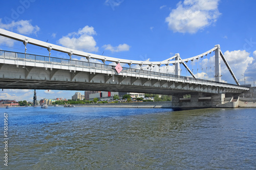Obraz na dibondzie (fotoboard) Moskwa. Most krymski