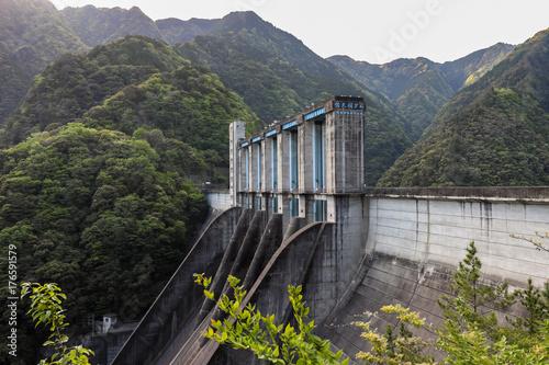 Foto op Plexiglas Dam Sakuma Dam (佐久間ダム) in Shizuoka/Aichi, Japan