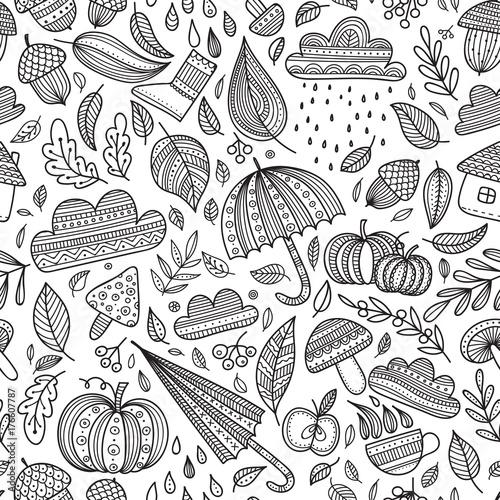 wektorowej-jesieni-bezszwowy-wzor-bezbarwny