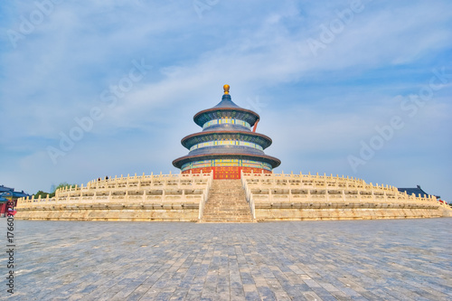 Foto op Aluminium Beijing Beijing Temple of Heaven the icon of Beijing, China