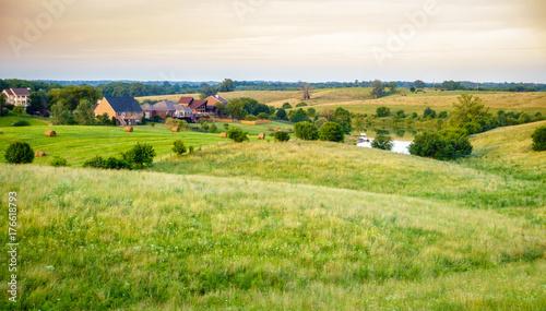 Obraz Subdivision in rural Kentucky - fototapety do salonu