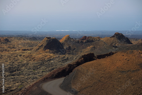 Zdjęcie XXL Krater wulkanu na Lanzarote