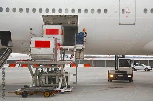 Fotografie, Obraz  Aircraft Ground Handling
