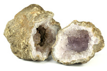 Amethyst Geode Found In Algeri...