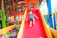 Indoor Playground With Colorfu...