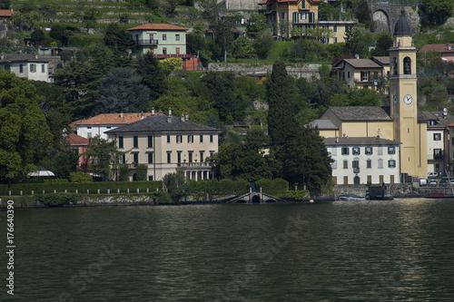 Photo  .Lombardy; Lake Como, Villa Oleandra; owner: George Clooney.