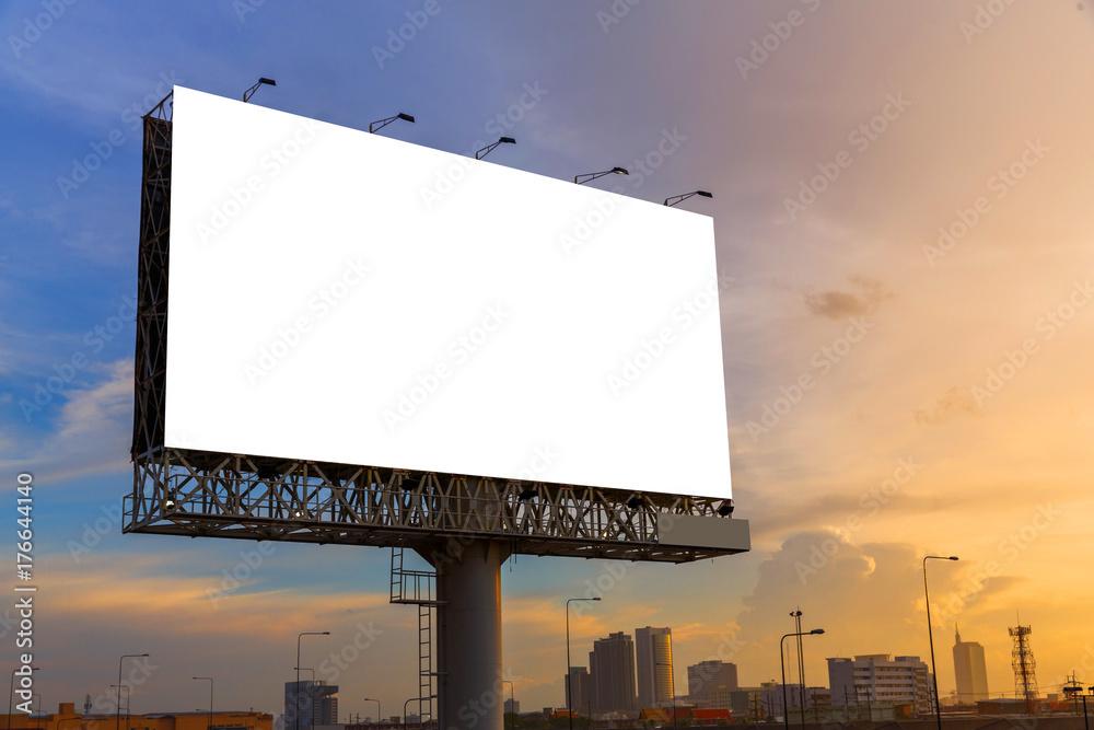 Fototapety, obrazy: Blank billboard ready for use