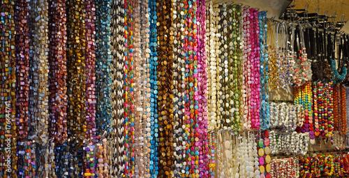 Fototapeta  Colliers de perles