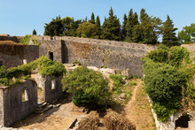 Old Ruined Medieval Fortress C...