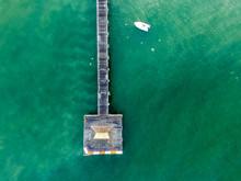 Naples FL Pier Aerial