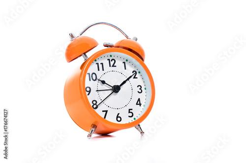 Zdjęcie XXL Pomarańczowy budzik