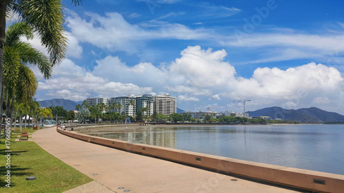 Fotomural Australia tourist town of Cairns