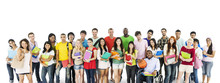 Group Of Diverse College Stude...